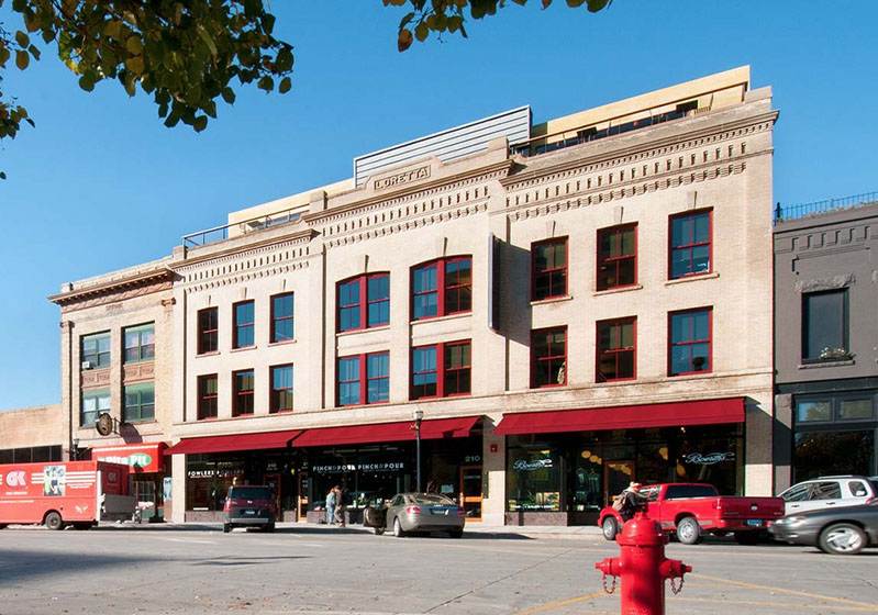 Adaptive Reuse Expansions and Renovations Category